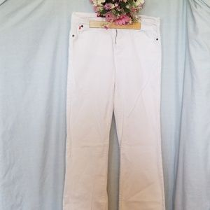 NYDJ White Denim Jeans Size 8